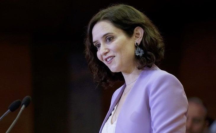 La presidenta de la Comunidad de Madrid, Isabel Díaz Ayuso, propone celebrar corridas de toros en honor de los sanitarios