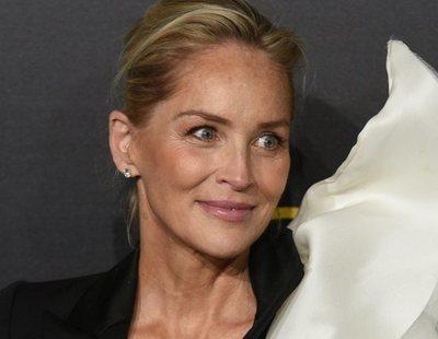 Sharon Stone, fulminada por un rayo mientras planchaba