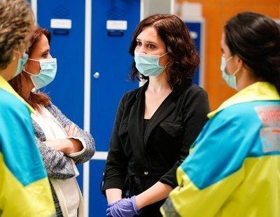 Ayuso aprovecha el coronavirus para renovar la privatización de seis hospitales y otro servicio