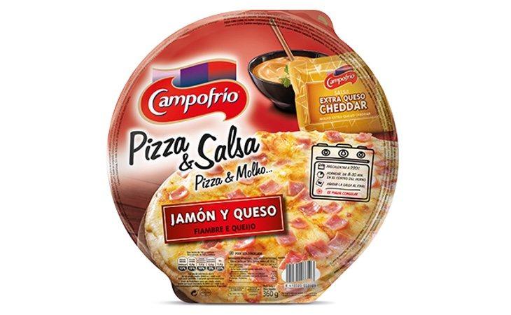 La pizza de jamón y queso de Campofrío aparece en los peores resultados del ranking de la OCU