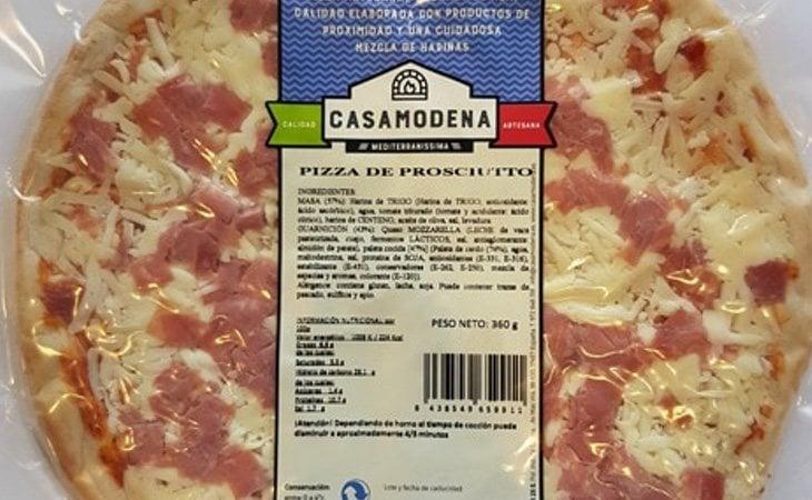 Las pizzas de Casa Módena cuentan con una mala puntuació en el estudio de la OCU