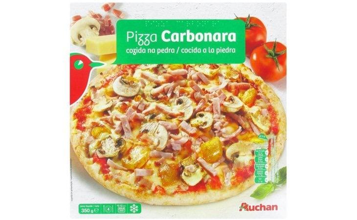 La pizza congelada de Auchan sale mal parada en este estudio