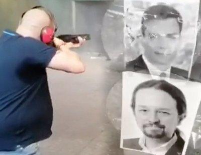 El Gobierno denuncia un vídeo amenazante en el que disparan a fotos de Sánchez, Iglesias, Montero y Marlaska