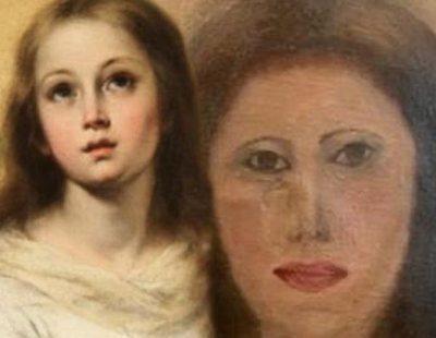 El último 'Ecce Homo', en Valencia: desfiguran una Virgen de Murillo al limpiarla