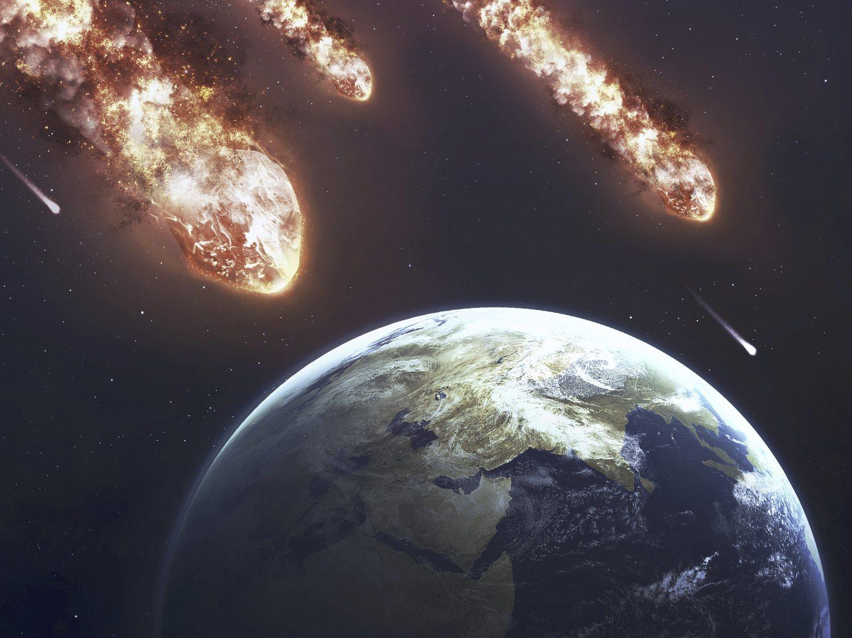 Cinco asteroides como rascacielos se acercan peligrosamente a la Tierra, según la NASA