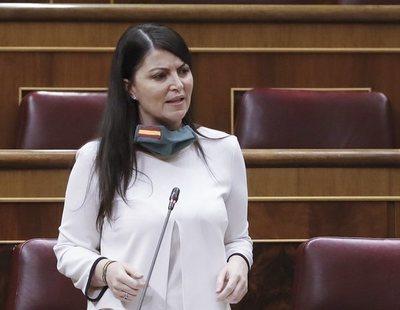 Macarena Olona (VOX) hace negacionismo de la violencia machista a gritos en el Congreso