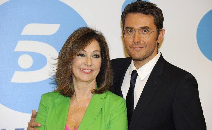 Máximo Huerta ha desarrollado gran parte de su trayectoria televisiva junto a Ana Rosa Quintana