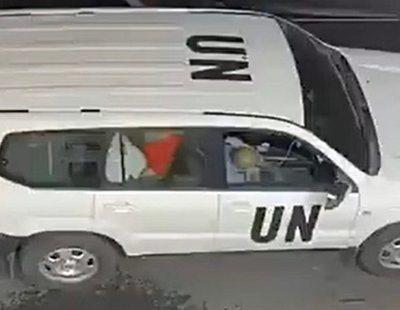 Pillan a dos funcionarios de la ONU teniendo sexo en un coche oficial en plena misión