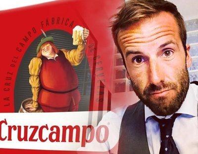 """El """"orangután"""" Álvaro Ojeda, ofendidito por el repaso que le da Cruzcampo en Twitter"""