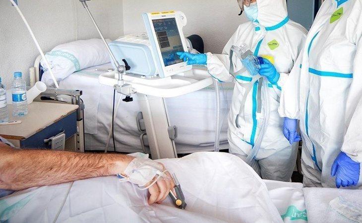 El paciente de Covid-19 sufrió priapismo