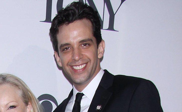 Nick Cordero, durante su nominación en los Tony