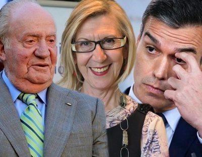 Rosa Díez dice los escándalos del rey son parte de un plan del Gobierno para construir una dictadura