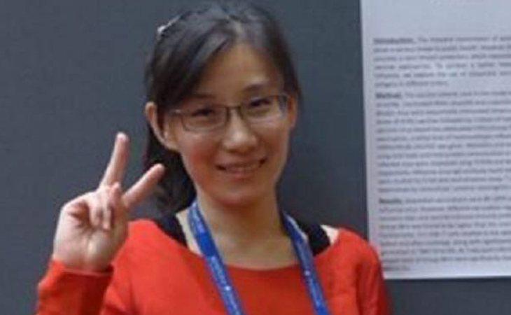 Li-Meng Yan, viróloga de China que ha huído Estados Unidos