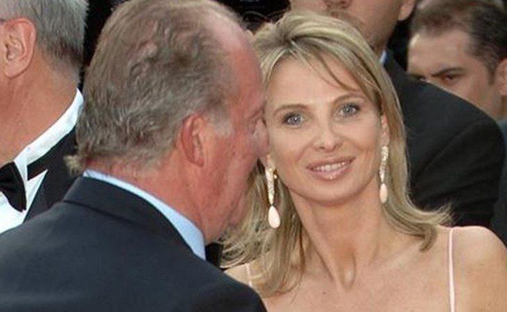 El rey Juan Carlos junto a Corinna Larsen, su examante