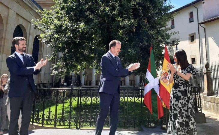 Fracasa la coalición PP+Cs en País Vasco