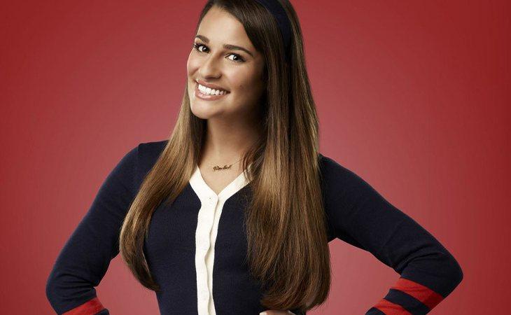 Lea Michele como Rachel en 'Glee'