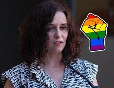 La homofobia de Ayuso: todos sus desprecios a las personas LGTBI durante su gobierno