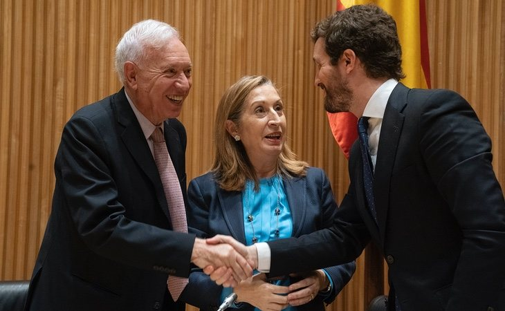 José Manuel García Margallo se ha distanciado completamente de Pablo Casado tras comprobar cómo ha gestionado el partido ideológicamente