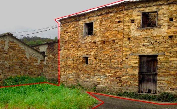 La casa que actualmente se encuentra en venta por 2.500 euros