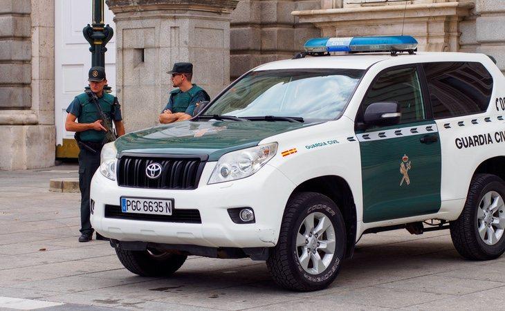 La llegada de los agentes de la Guardia Civil fue determinante para salvar la vida del paciente