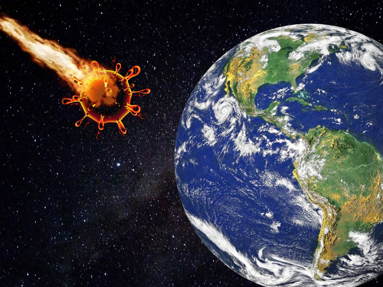 El coronavirus llegó del espacio por un meteorito: el origen de la pandemia según un astrofísico