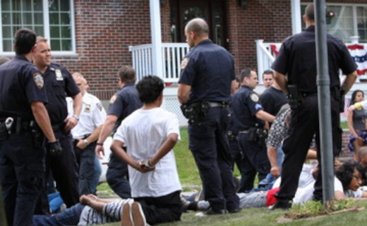 La fiesta sexual se saldó con 71 detenidos