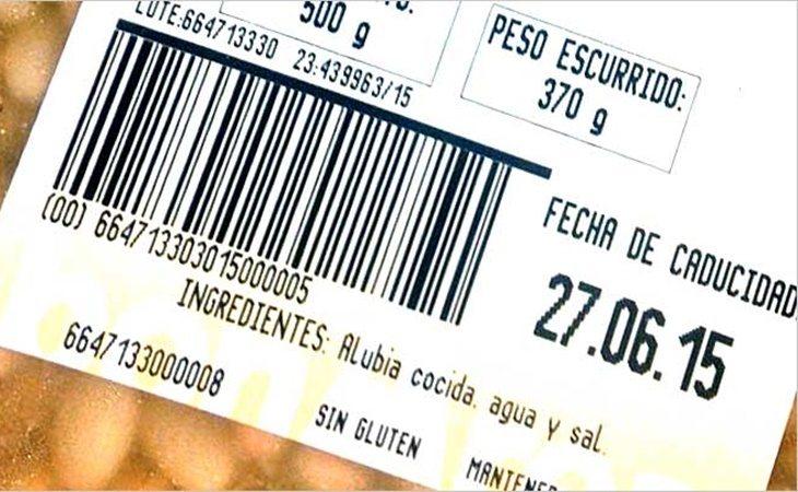 Debemos distinguir entre fecha de consumo preferente y fecha de caducidad