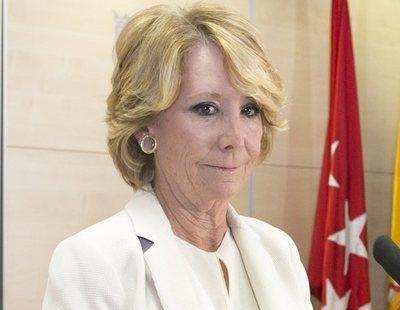 Esperanza Aguirre, imputada, pide que no se aplique la reforma legal y se deje de investigar la Púnica