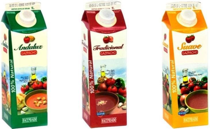 Mercadona tiene hasta tres variantes de gazpacho