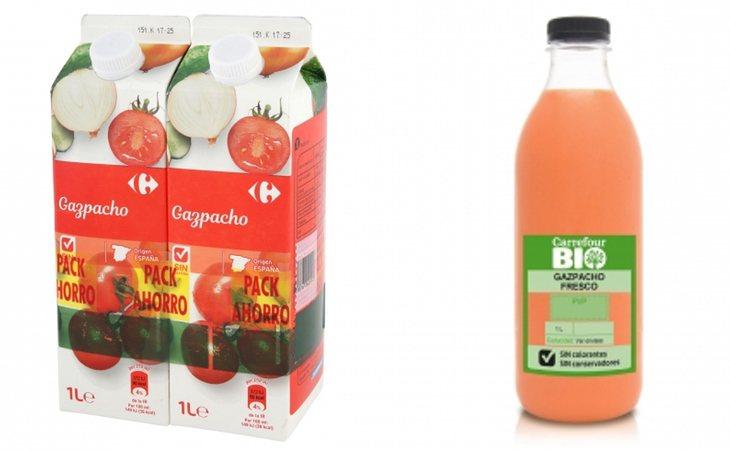 Carrefour ofrece gazpacho sin gluten