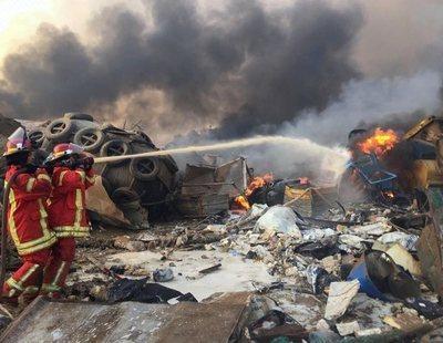 La explosión de Beirut tensiona Oriente Próximo: ¿Quién ha sido el responsable del incidente?