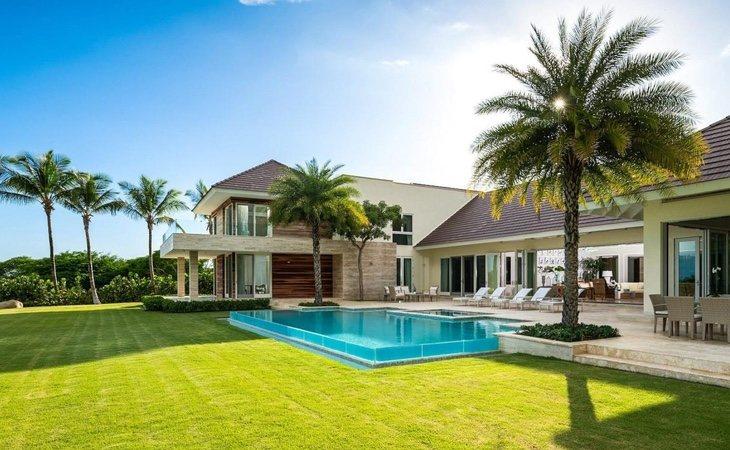 Una de las villas del complejo Casa de Campo en República Dominicana, la urbanización de lujo donde se ha asentado el rey Juan Carlos