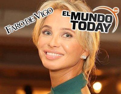 El Faro de Vigo copia unas frases de El Mundo Today como si fueran declaraciones de Corinna