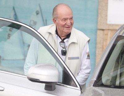 El rey Juan Carlos está en Abu Dabi: ha sido fotografiado bajando del avión