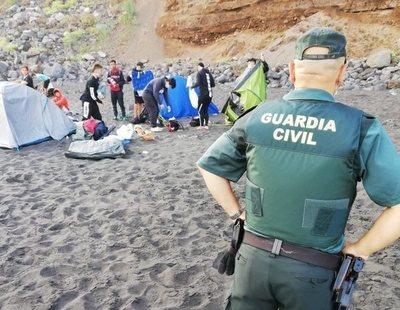 Desalojan a 62 campistas de una playa de Tenerife en una quedada para expandir el coronavirus