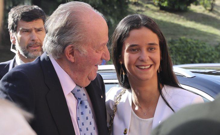 Victoria Federica siempre ha estado muy unida a su abuelo, el rey Juan Carlos