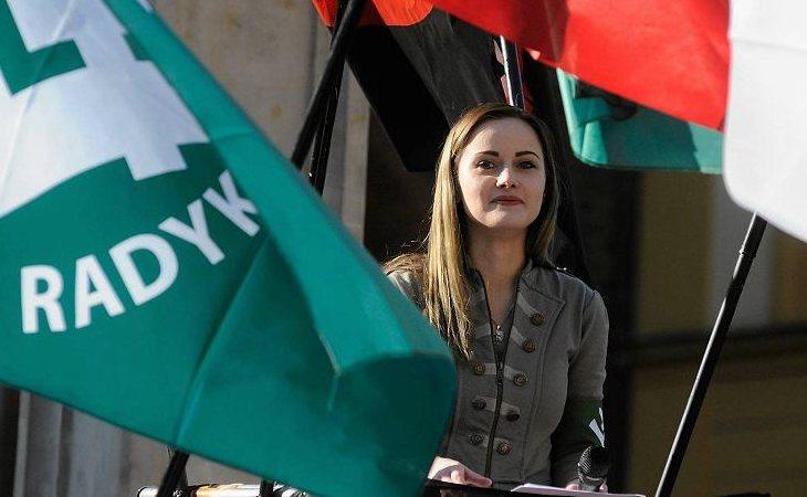 Justyna Helcyk, coordinadora de ONR