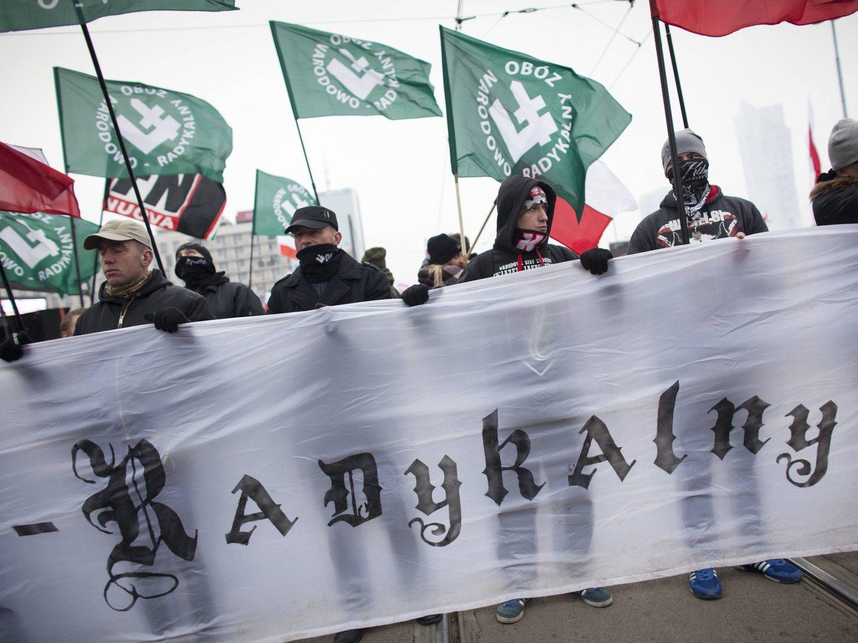 Así es ONR, el partido neonazi polaco al que VOX admira