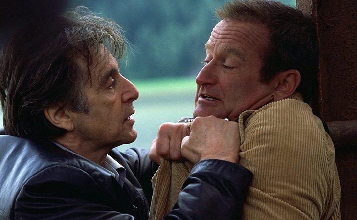 Al Pacino y Robin Williams en 'Insomnio'