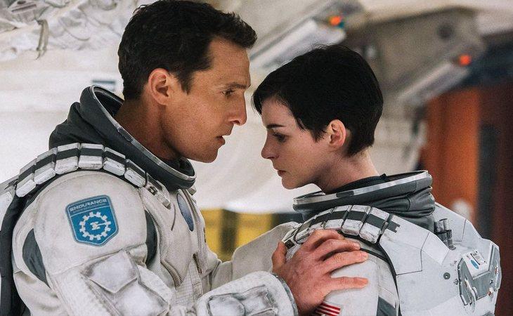 Matthew McConaughey y Anne Hathaway en 'Interstellar' de Christopher Nolan