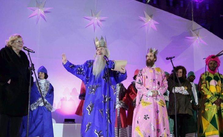 A Cayetana Álvarez de Toledo no le gustaron los Reyes Magos de Manuela Carmena