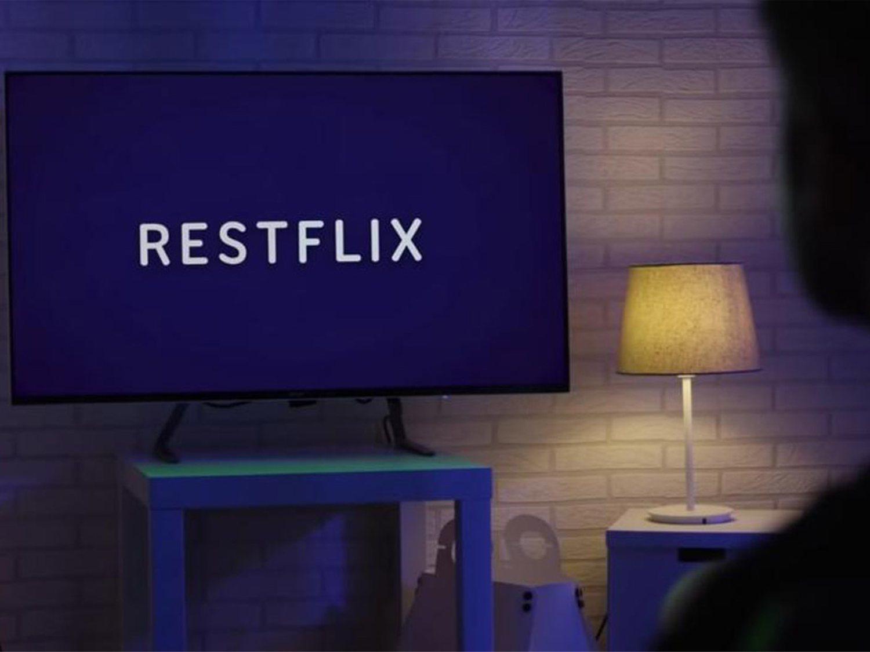 Llega Restflix, el Netflix para ayudarnos a dormir