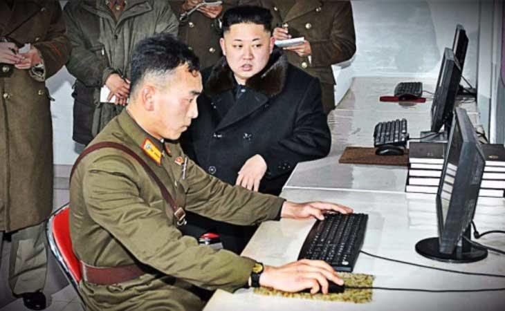 Kin Jong-un e internet