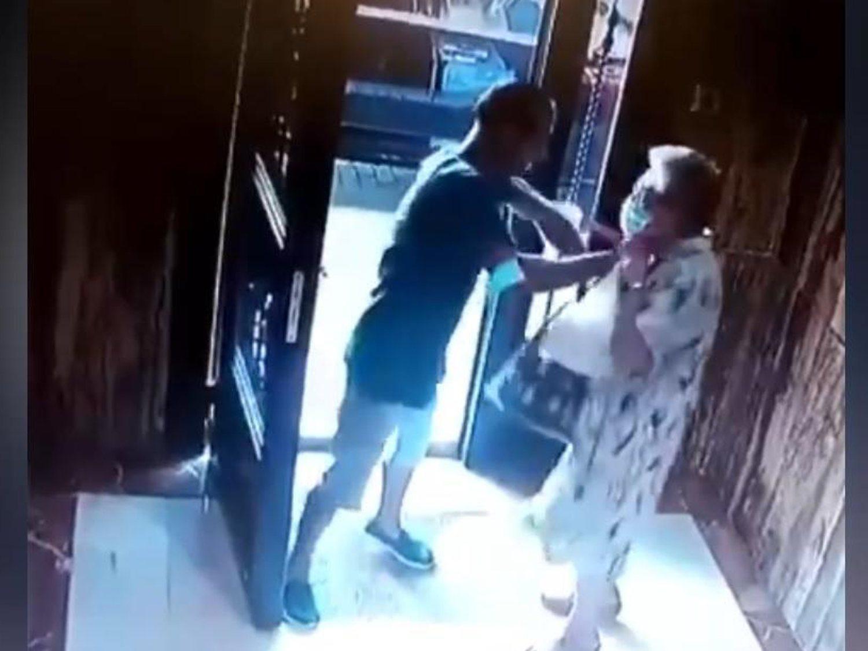Brutal agresión a una anciana para robarle en su portal: el autor ha sido detenido