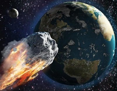 Un asteroide roza la Tierra