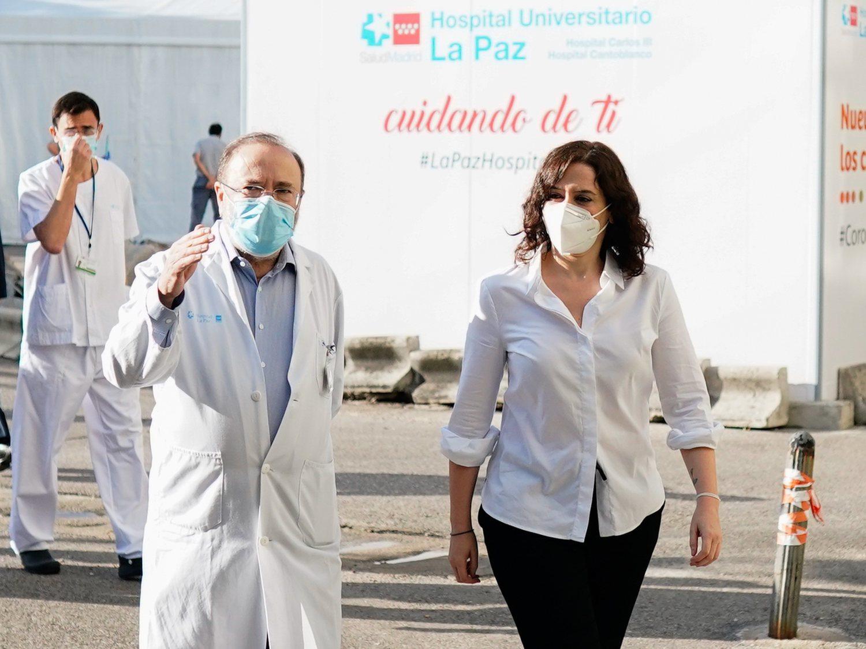 """Los médicos de Madrid piden volver a fase 2 y califican a Ayuso de """"incompetente"""""""