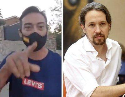 Un simpatizante de VOX amenaza a Pablo Iglesias e Irene Montero frente a su vivienda