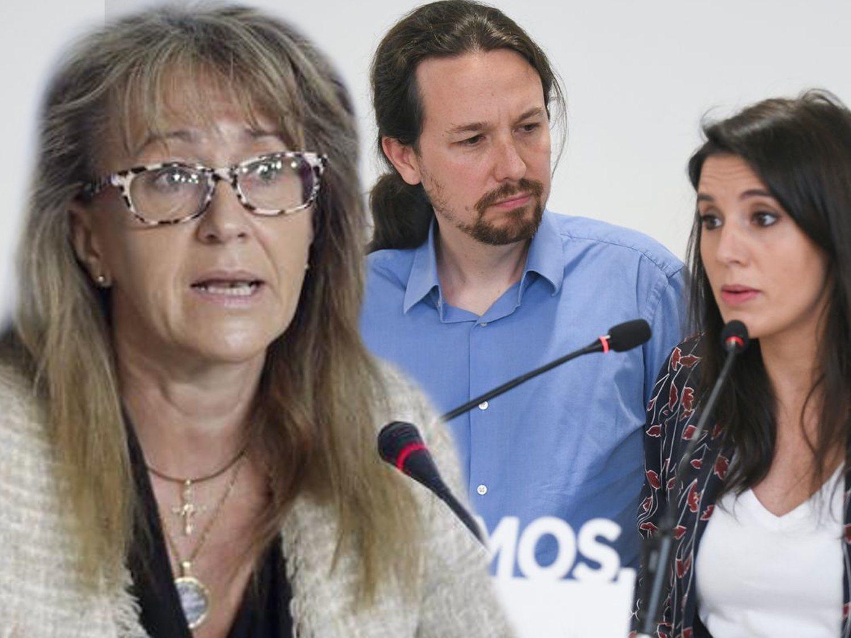 Una diputada del PP utiliza a ETA para justificar cuatro meses de acoso a Iglesias y Montero