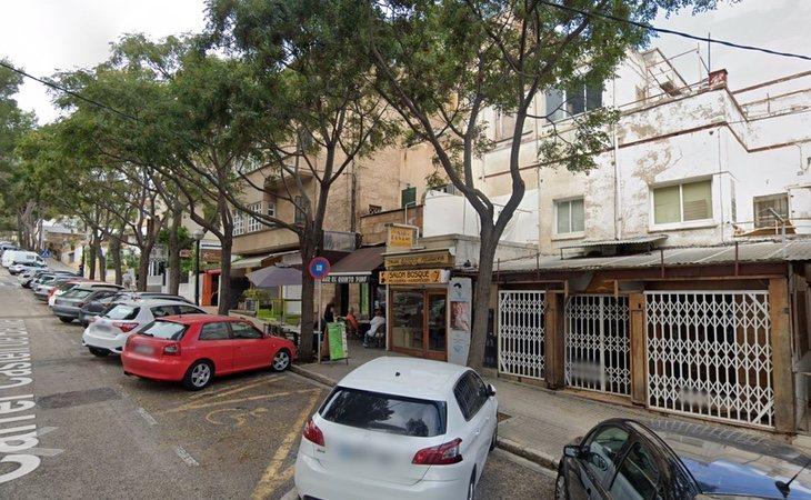Los hechos ocurrieron en la calle Camilo José Cela de Palma