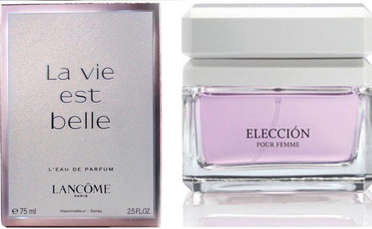La Vie Este Belle de Lancôme y Elección Pour Femme de Mercadona